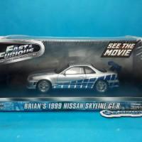GREENLIGHT FAST N FURIOUS BRIAN'S 1999 NISSAN SKYLINE GT-R