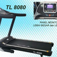REKOMENDASI TREADMILL ELEKTRIK YANG BAGUS TL8080 AUTO INCLINE 3 HP