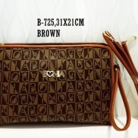 harga Tas Fashion Clutch Bonia #k Tokopedia.com