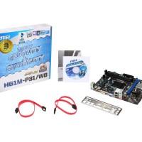 Motherboard MSI H61 M-P31/W8 SOCKET 1155 DDR3 Micro ATX with UEFI BIOS