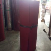Karpet Talang 110 cm Anti Bocor / Merah Hitam Per 1/2 Meter ( 50 cm )