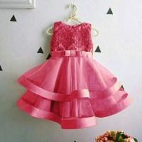 dres gio pakaian pesta anak baju anak perempuan gaun dres terbaru