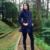 harga Jaket/mantel Korea Winter Girl Tokopedia.com