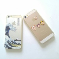 Case iphone 5 5s soft jacket lucu animal japan scenery