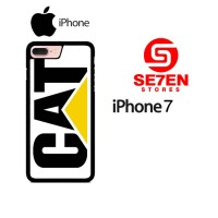 Casing HP iPhone 7 caterpillar logo Custom Hardcase Cover
