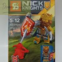 SY616 Nick Knights - King Halbert Minifigure