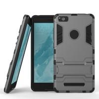 Soft Hard Case Xiaomi Mi 4c Mi4c Casing HP Cover Armor Silikon Stand