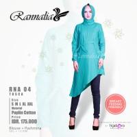 Jual Baju Muslim / Tunik / Blouse / RANNALIA RNA 04 TOSKA Murah