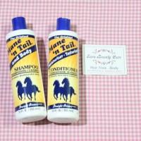 Sepaket Shampo Kuda Mane n Tail Shampo & Conditioner Original 355ml