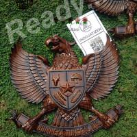 garuda lambang negara kayu jati