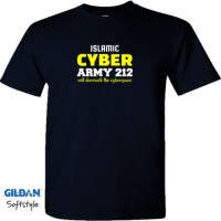 BAJU / KAOS GILDAN DISIGN CYBER ARMY 212 DISTRO