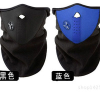 Motorcycle Polar buff Ski Half Face Mask Masker Motor Air Filter Udara