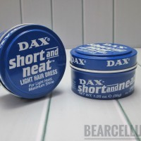 DAX SHORT AND NEAT LIGHT HAIR DRESS POMADE MINI 1.25OZ FREE SISIR