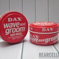 DAX WAVE AND GROOM HAIR DRESS POMADE MINI 1.25OZ FREE SISIR