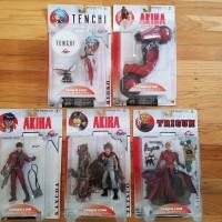 McFarlane Toys Japan 3D Animation Series 1 Lot of 5 Action AKIRA