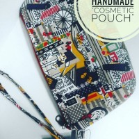 simple pouch/cosmetik pouch/kantong kosmetik/kreasi lokal/handmade/