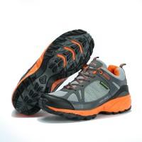 Jual Sepatu Running KETA 190 Grey Orange /Jogging/Running/Outdoo Murah