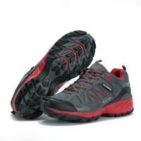 Jual Sepatu Running KETA 190 Grey Red /Jogging/Running/Outdoo Murah