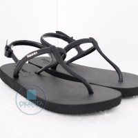 Sandal Fipper Strappy - Black Black [SP 06] - ORIGINAL