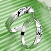 Cincin Berlian Diamond Emas - Kawin, (Wedding Ring) 25 - Murah Bandung