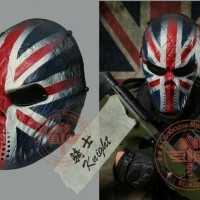TOPENG SERAM HALLOWEEN CREEPY MASK PAINTBALL AIRSOFT MASK KOSTUM