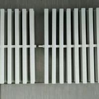Grill Grating Kolam Renang 1 Pin Lebar 25 CM - Chalk White