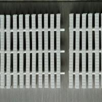 Grill Grating Kolam Renang 3 Pin Lebar 25 CM - Chalk White