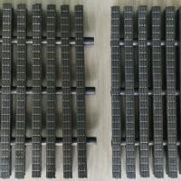 Grill Grating Kolam Renang 3 Pin Lebar 25 CM - Charcoal Black