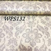 WALLPAPER STICKER 45CMX5M- WPS132-YELLOW N SILVER PAINTED VECTOR
