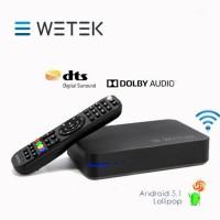 DVB-S2 WETEK PLAY 2 HYBRID MEDIA PLAYER 4K ANDROID TV BOX