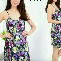 Vb#piyama Dress*dress Butterflay*baju Tidur*murah*sale