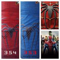 NEW!!! buff spiderman (marvel, kartun, original jiabao)