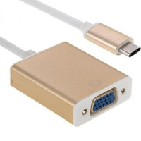 USB 3.1 Type-C Converter To VGA Projector Adapter