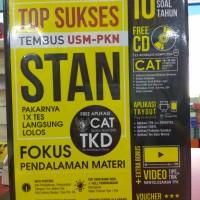 Buku TOP SUKSES TEMBUS USM-PKN STAN + CD Forum Edukasi kh