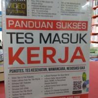 Buku Panduan Sukses Tes Masuk Kerja + CD Arie Wibowo Genta kh
