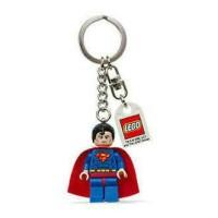 Lego SuperHeroes Superman Keychain