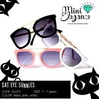 Jual CAT EYE SUNNIES - Kids Sunglasses - Kacamata Hitam Anak Fashion Murah