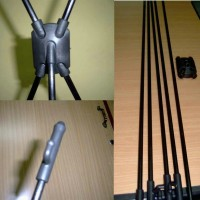 Rangka X banner 60x160 bahan Fiber - Hitam