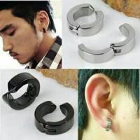 Anting magnet fashion modern tanpa tindik magnet tindik pria