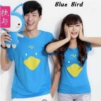 Kaos Couple Unik   Pusat Baju Couple   Blue Bird