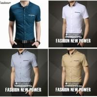 Jual kemeja tommy putih/baju pria/kemeja pria/bukan batik pria Murah