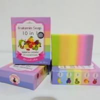 Jual FRUITAMIN SOAP 10 in 1 by WINK WHITE / Sabun Pemutih Badan Original Murah