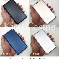 Samsung Galaxy C9 Pro - Flip Cover Case Casing Sarung