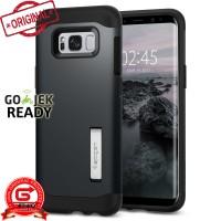 Spigen Galaxy S8 Plus Case Slim Armor - Metal Slate