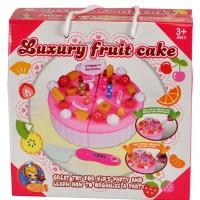 LUXURY FRUIT CAKE KECIL - MAINAN ANAK PEREMPUAN DIY CAKE