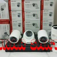 PROMO PAKET CCTV HIKVISION 4 Camera Full HD 1080p 2MP ( Komplit set )