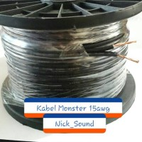 Kabel Speaker/Kabel Subwoofer/Kabel 15awg Soundstream/Audio Mobil
