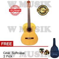 Yamaha Gitar Klasik C-315 + Yamaha Softcase & 2 Pick