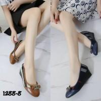 Sepatu Wanita 23 BURBERRY WEDGES SHOES 1288-8