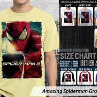 Amazing Spiderman Graphic 9 - KAOS DISTRO PRIA WANITA ANAK OCEANSEVEN